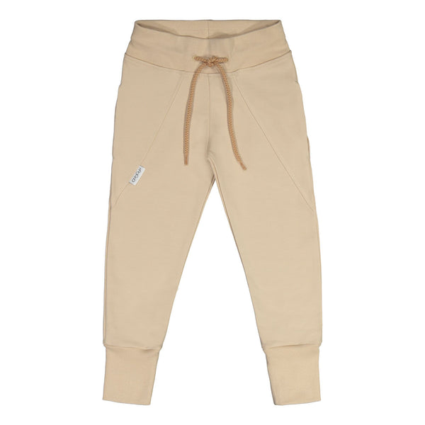 gugguu Slim Baggy Sweatpants Pants Vanilla Coffee 80