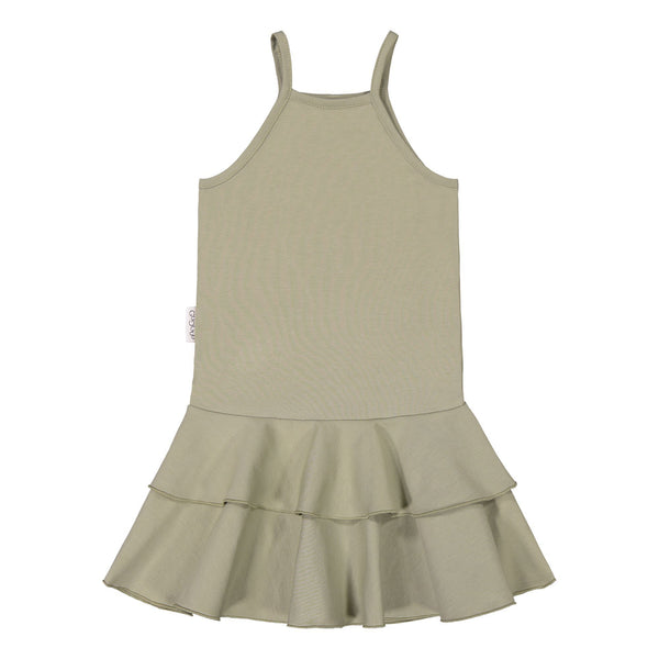 gugguu Spaget Dress Dresses Pale Sage 80