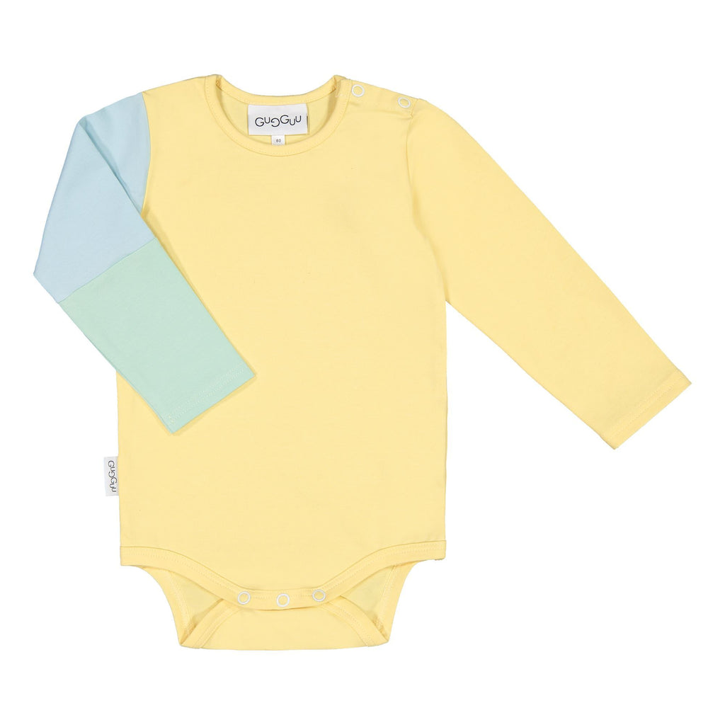 gugguu Triple Body Bodies Banana / Bluebell / Peppermint 62 / 0-3 M