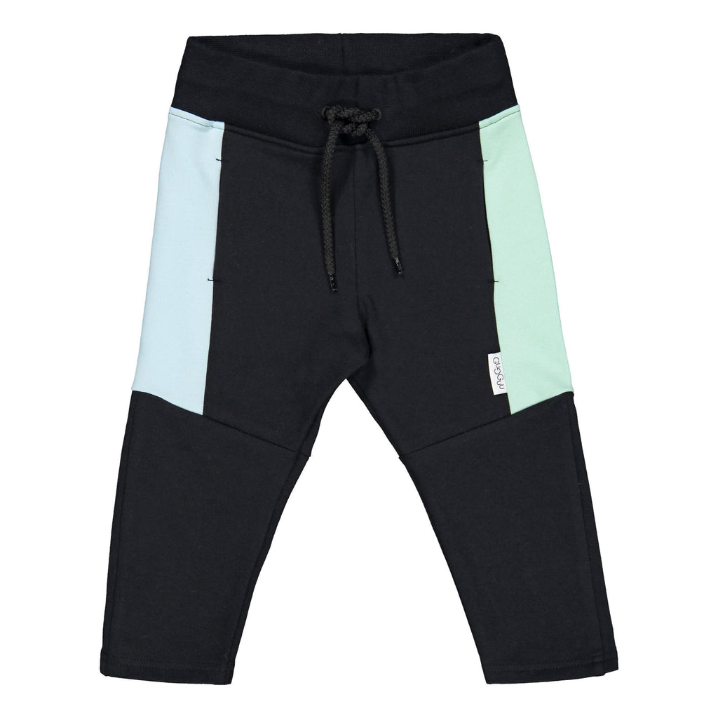 gugguu Triple Sweatpants Pants Black / Bluebell / Peppermint 80/1Y