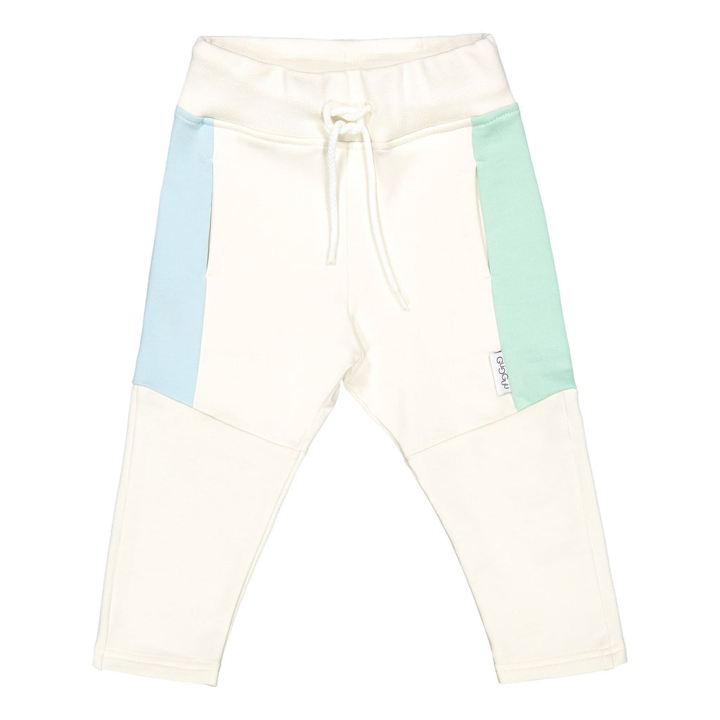 gugguu Triple Sweatpants Pants White Candy / Bluebell / Peppermint 80/1Y