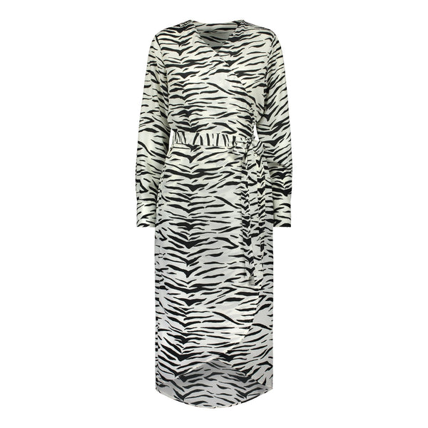 gugguu Women's Wrapdress Women's Dresses Zebra XS