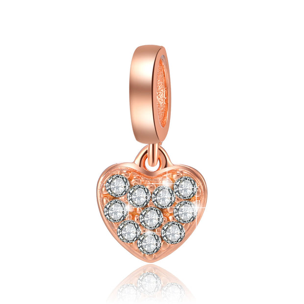 Charm CRYSTAL HEART