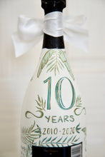 Load image into Gallery viewer, Custom Hand-Painted Champagne Bottle - Bachelorette, Bridal, Wedding, Anniversary Gift