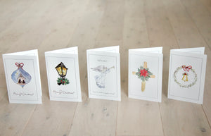 Watercolor Christmas Card Bundle