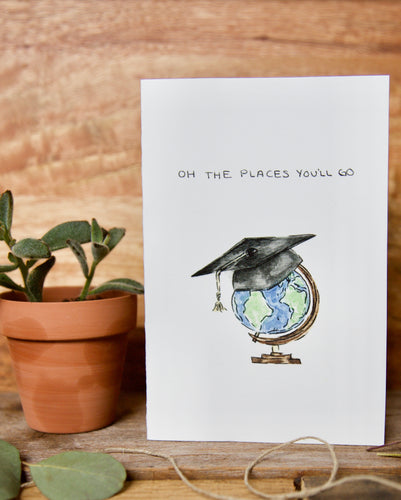 Oh The Places You'll Go - 2020 graduation card