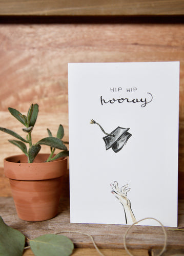 Hip Hip Hooray - 2020 Graduation card