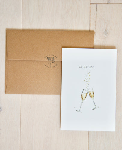 Cheers! - bachelorette, birthday, anniversary card