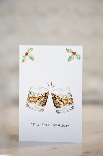 'Tis The Season - Whiskey / Rum / Bourbon Christmas Card