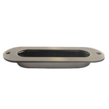 SCH001 Oval Antique Brass Flush Pull
