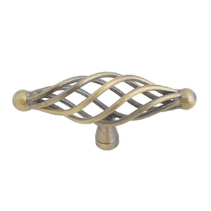 1003 Birdcage Antique Brass Pull - Magnificent Marketing (DIY Builders Hardware)