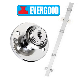 Evergood 108 Side Central Lock with Locking Bar