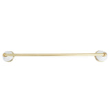 Ceramic Solid Brass Towel Bar