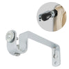 Single Chrome Plated Curtain Bracket