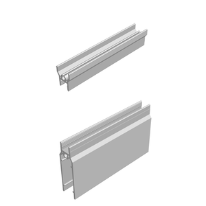 Top & Bottom Rail Frame Profile