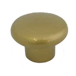 1200 Helmet Gold Plastic Knob - Magnificent Marketing (DIY Builders Hardware)