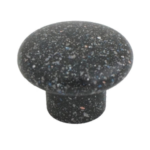 1200 Sandy Black Plastic Knob - Magnificent Marketing (DIY Builders Hardware)