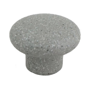 1200 Sandy Gray Plastic Knob - Magnificent Marketing (DIY Builders Hardware)