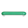 1228 Green White Plastic Pull Handle - Magnificent Marketing (DIY Builders Hardware)