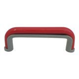 1228 Red Gray Plastic Pull Handle - Magnificent Marketing (DIY Builders Hardware)