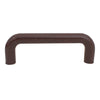 1229 Plain Brown Plastic Pull Handle - Magnificent Marketing (DIY Builders Hardware)