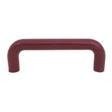1229 Plain Burgundy Plastic Pull Handle - Magnificent Marketing (DIY Builders Hardware)