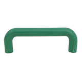 1229 Plain Green Plastic Pull Handle - Magnificent Marketing (DIY Builders Hardware)