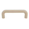 1229 Plain Ivory Plastic Pull Handle - Magnificent Marketing (DIY Builders Hardware)
