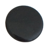 1230 Plain Black Plastic Knob - Magnificent Marketing (DIY Builders Hardware)