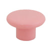1230 Plain Pink Plastic Knob - Magnificent Marketing (DIY Builders Hardware)