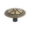1269 Classic Antique Brass Knob - Magnificent Marketing (DIY Builders Hardware)