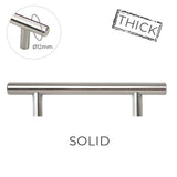3400 Stainless Solid Pull Handle