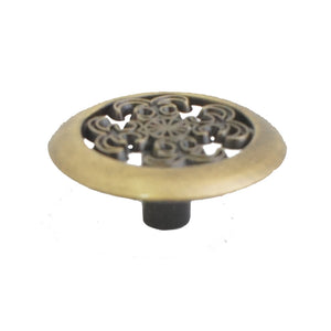 1443 Classic Antique Brass Knob - Magnificent Marketing (DIY Builders Hardware)