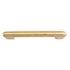 164 Oak with Gold Stripes Plastic Pull - Magnificent Marketing (DIY Builders Hardware)