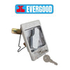 Evergood Steel Cabinet Compact Compression Shelves Panel Door Lock