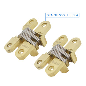 Bucci Brass Invisible Hinge