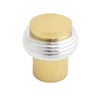 2042 Chrome Plated Solid Brass Knob