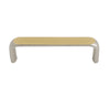 2160 Two Toned Solid Brass Pull