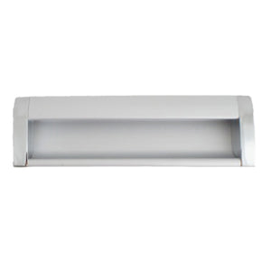 2202 Plain Aluminum Flush Handle