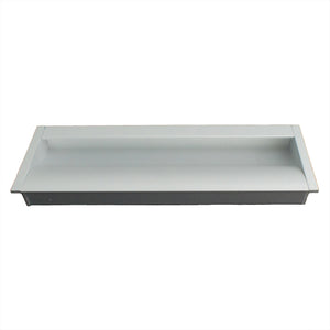2205 Plain Aluminum Flush Handle