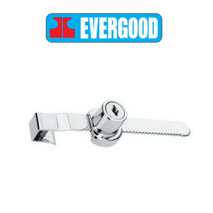 Evergood 220 Glass Lock with Ratchet Bar