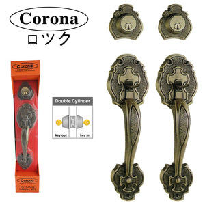 302 Corona Decorative Lockset