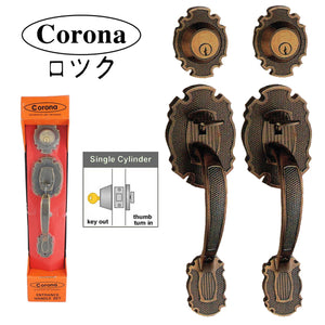 304 Corona Decorative Lockset