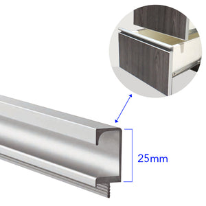 4020 C-Type Aluminum Handle Profile