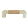439 Oak Brass Plastic Pull Handle