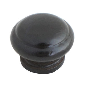 5208 Black Coated Knob