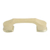523 Oak with Brass Base Plastic Pull Handle - Magnificent Marketing (DIY Builders Hardware)