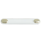526 White Oak Brass Plastic Pull Handle - Magnificent Marketing (DIY Builders Hardware)