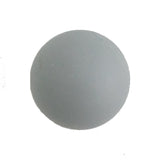 6533 Rounded Matt Gray Plastic Knob - Magnificent Marketing (DIY Builders Hardware)