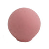 6533 Rounded Matt Pink Plastic Knob - Magnificent Marketing (DIY Builders Hardware)